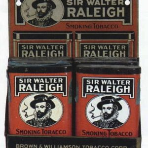 Sir Walter Raleigh Tobacco Display