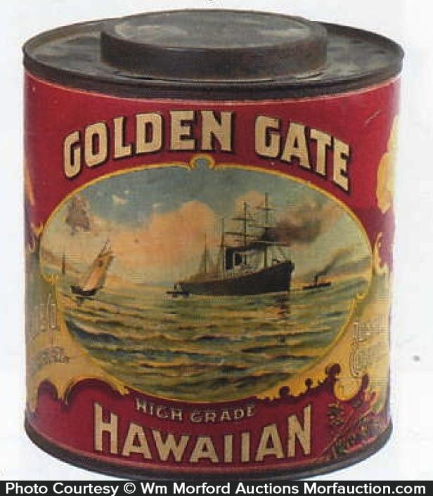 Golden Gate Hawaiian Coffee Can