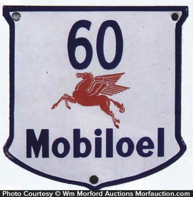 Porcelain 60 Mobiloel Sign