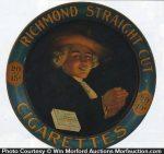 Richmond Straight Cut Cigarettes Sign