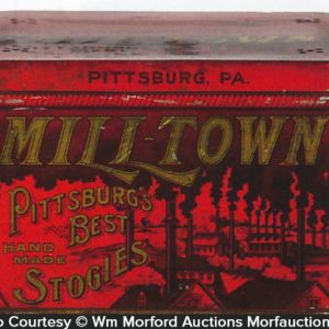 Milltown Pittsburg Stogies Tin