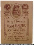 Dr. Daniels' Canine Remedies Booklet