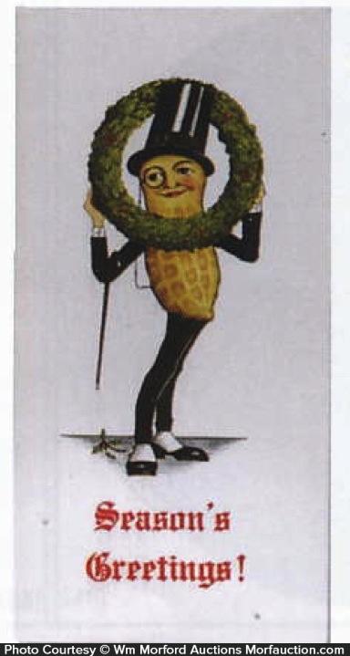 Planters Season's Greeting Card