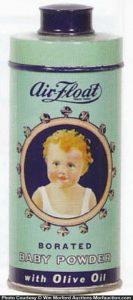 Air Float Baby Powder Tin