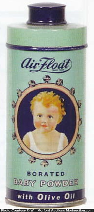 Air Float Baby Powder Tin