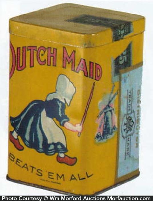 Dutch Maid Cigar Tin