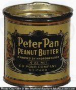 Miniature Peanut Butter Tin