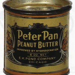 Miniature Peanut Butter Tin