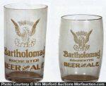 Bartholomay Beer Glasses