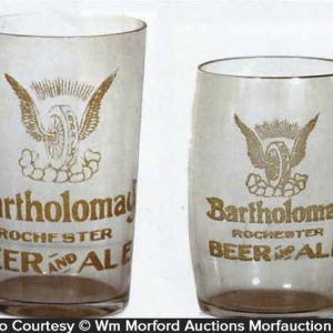 Bartholomay Beer Glasses