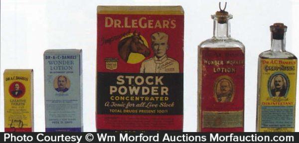 Vintage Veterinary Medicines