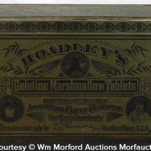 Hoadley's Gelatine Marshmallow Tablets Tin