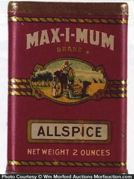 Max-I-Mum Spice Tin