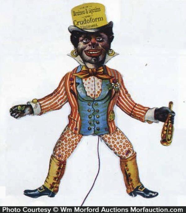 Crudoform Liniment Doll Toy