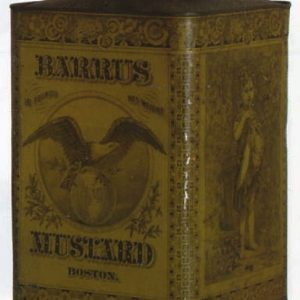 Barrus Mustard Tin