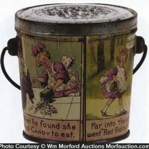 Little Red Riding Hood Candy Pail