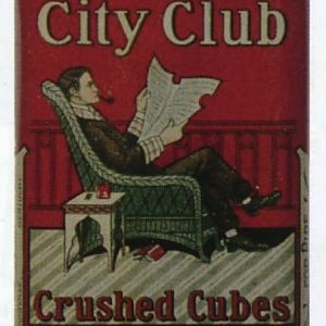City Club Pocket Tobacco Tin