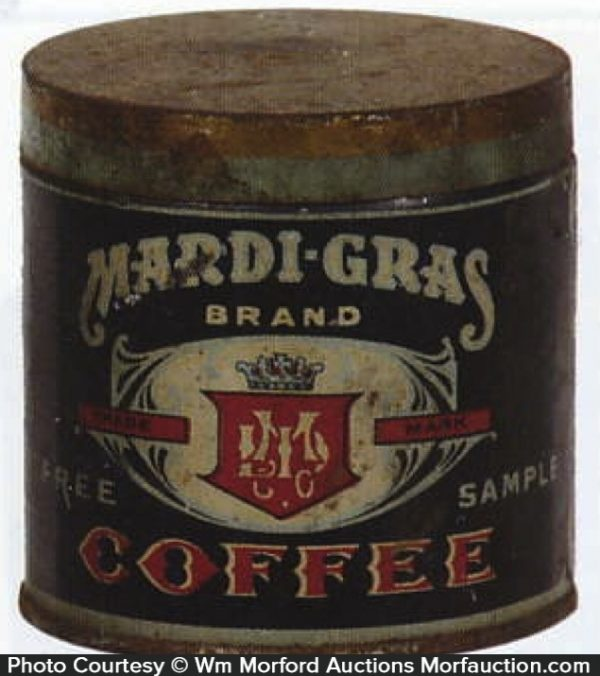 Mardi-Gras Coffee Can Sample