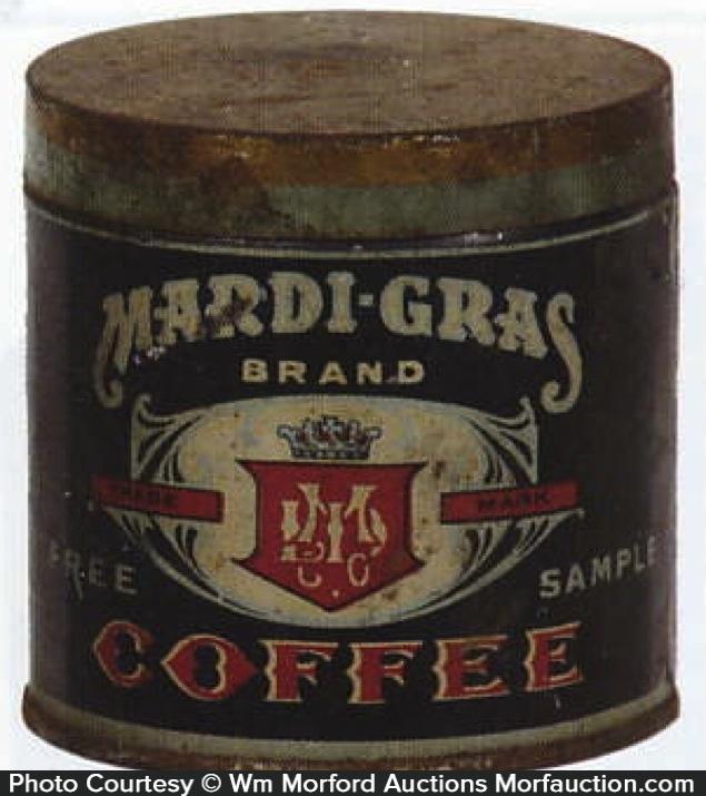 Mardi-Gras Coffee Can Sample
