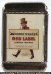 Jonnie Walker Red Label Whiskey Match Safe