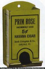 Prim Rose Cigars Match Holder