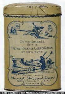 Metal Package Corp Tin Bank