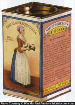 Bakers Breakfast Cocoa Tin