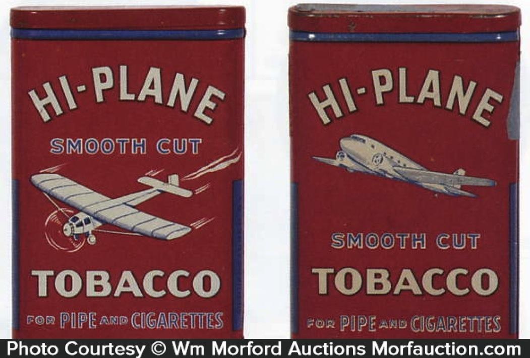 Hi-Plane Pocket Tobacco Tins