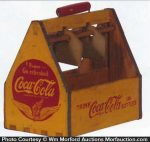 Coca-Cola Wooden Carrier