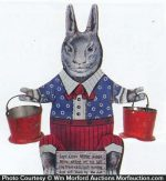 Mister Rabbit Display Toy