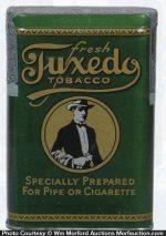 Fresh Tuxedo Tobacco Tin