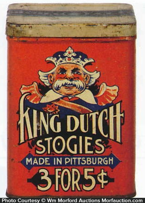 King Dutch Stogies Tin