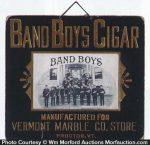 Band Boys Cigar Sign