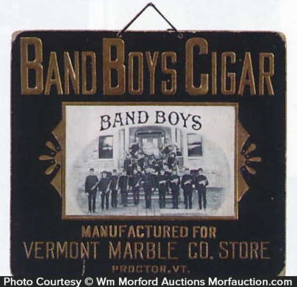 Band Boys Cigar Sign