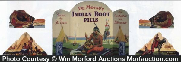 Dr. Morse's Indian Root Pills Display