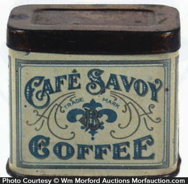 Cafe Savoy Coffee Can Sample
