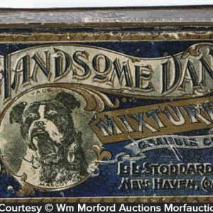 Handsome Dan Mixture Tobacco Tin