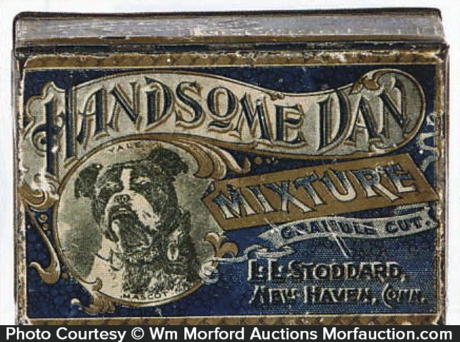 Handsome Dan Mixture Tobacco Tin