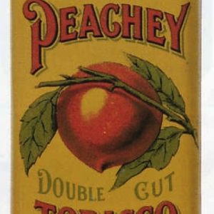 Peachy Double Cut Tobacco Tin