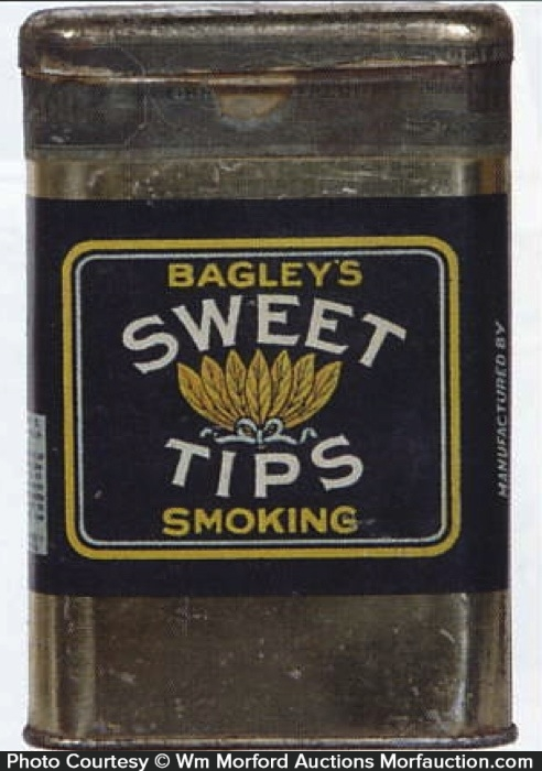 Sweet Tips Tobacco Tin
