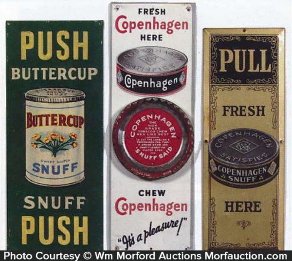 Snuff Door Pushes