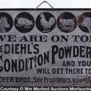 Diehl's Condition Powder Sign