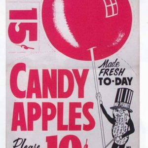 Planters Candy Apples Poster