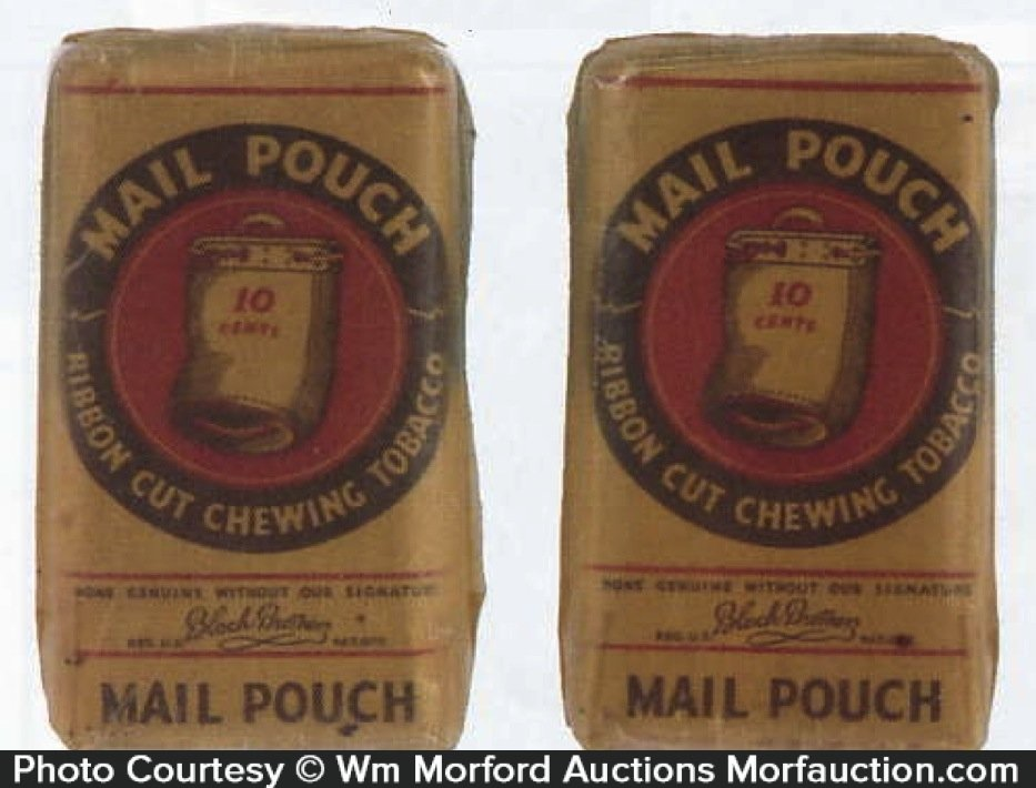Mail Pouch Tobacco Pack Samples