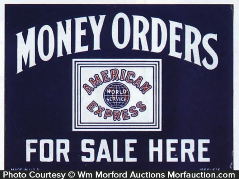 American Express Money Order Sign