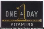 One A Day Vitamin Sign
