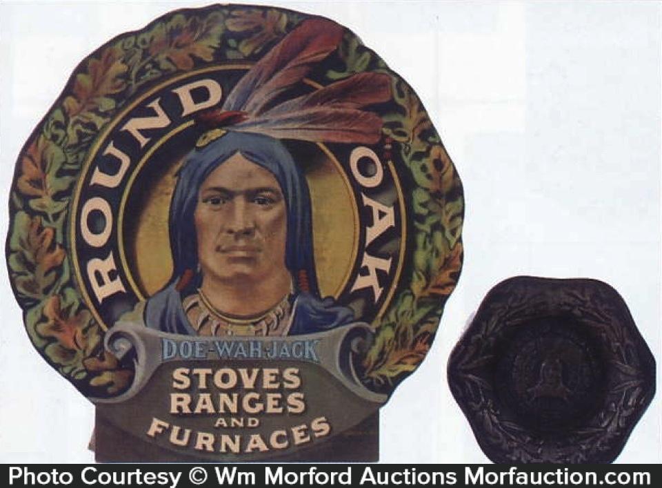 Round Oak Stoves Advertising