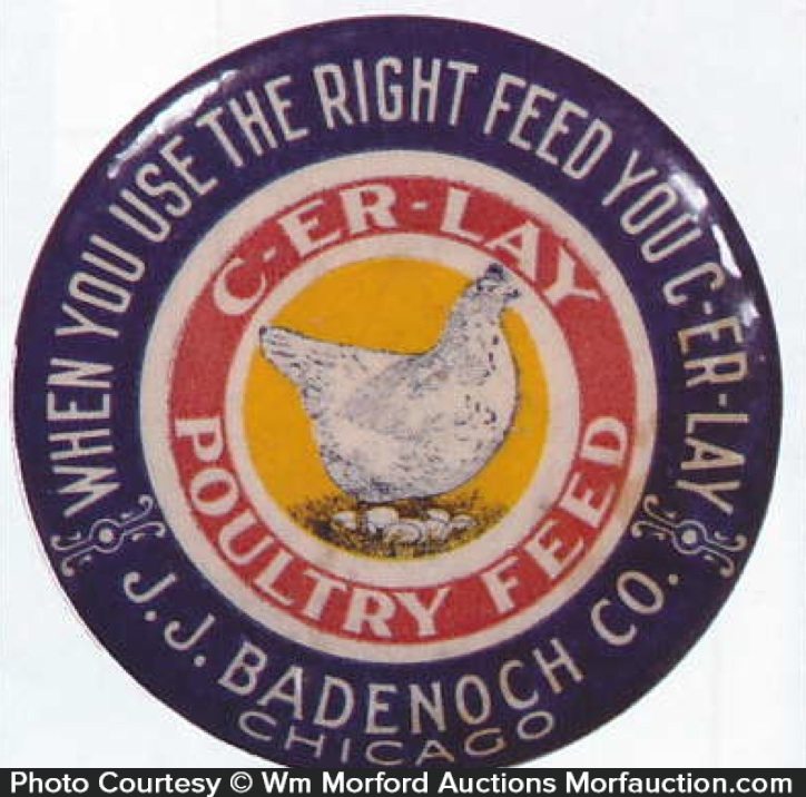 C-Er-Lay Poultry Feed Mirror