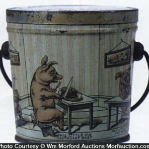 Three Little Pigs Candy Pail