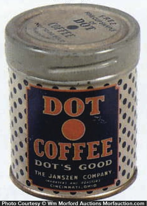 Dot Coffee Can Sample